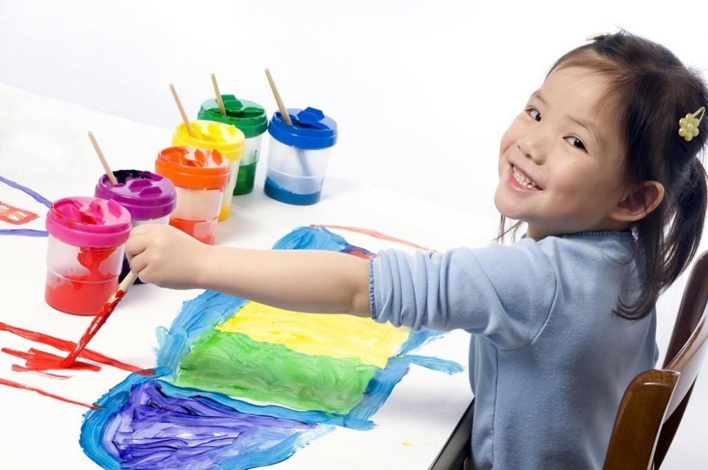 một đứa trẻ có khả năng học làm tính nhân nhanh